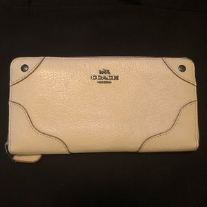 NWOT Genuine Leather Coach Wallet